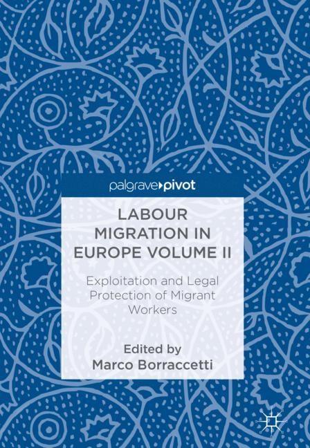 Labour Migration in Europe Volume II | Borraccetti | 2018, 2018 | Buch (Cover)