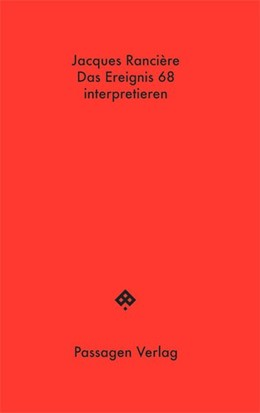 Abbildung von Rancière   Das Ereignis 68 interpretieren: Politik, Philosophie, Soziologie   1. Auflage   2018   beck-shop.de