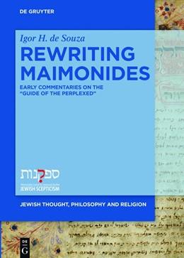 Abbildung von De Souza   Rewriting Maimonides   1. Auflage   2018   5   beck-shop.de
