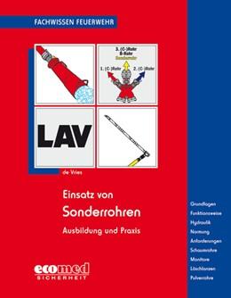 Abbildung von de Vries | Einsatz von Sonderrohren | 1. Auflage | 2018 | beck-shop.de