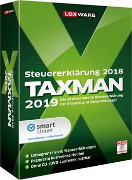 Abbildung von TAXMAN 2019   Version 25.00   Steuererklärung 2018