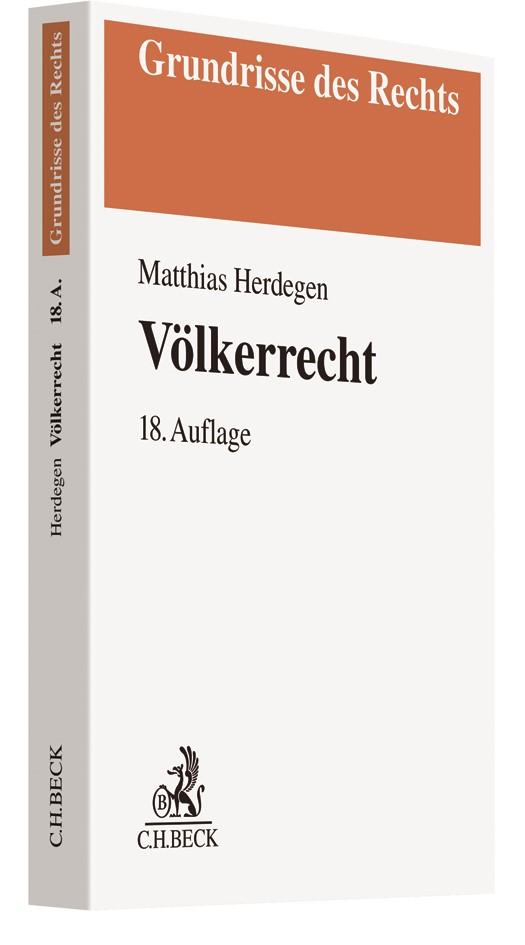 Völkerrecht | Herdegen | 18., überarbeitete und erweiterte Auflage, 2019 | Buch (Cover)