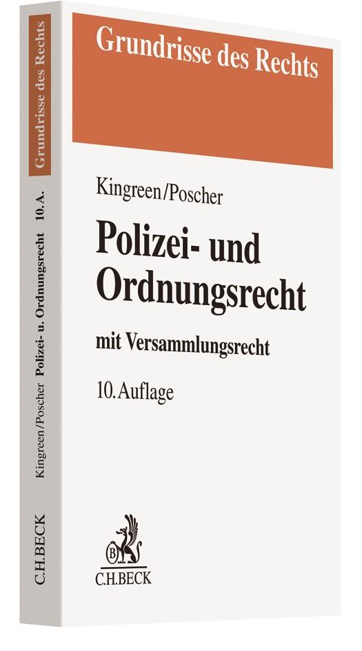 Polizei- und Ordnungsrecht | Kingreen / Poscher | 10. Auflage, 2018 | Buch (Cover)