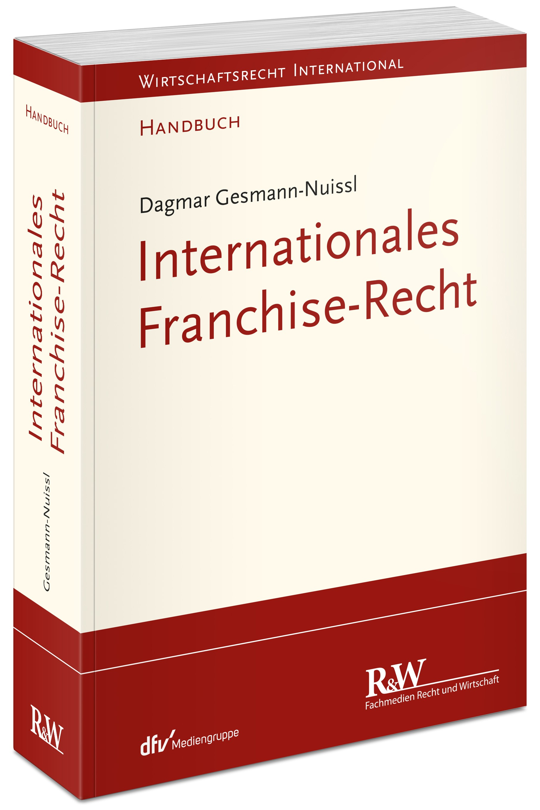 Internationales Franchise-Recht | Gesmann-Nuissl, 2018 | Buch (Cover)