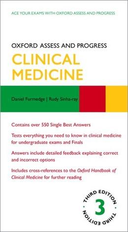 Abbildung von Sinharay / Furmedge   Oxford Assess and Progress: Clinical Medicine   3. Auflage   2019   beck-shop.de