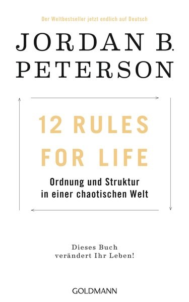 12 Rules For Life | Peterson, 2018 | Buch (Cover)