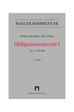 Abbildung von Widmer Lüchinger / Oser | Obligationenrecht: OR, I: Art. 1-529 OR | 7. Auflage | 2020