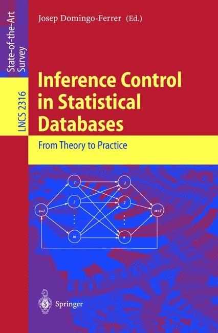 Abbildung von Domingo-Ferrer | Inference Control in Statistical Databases | 2002