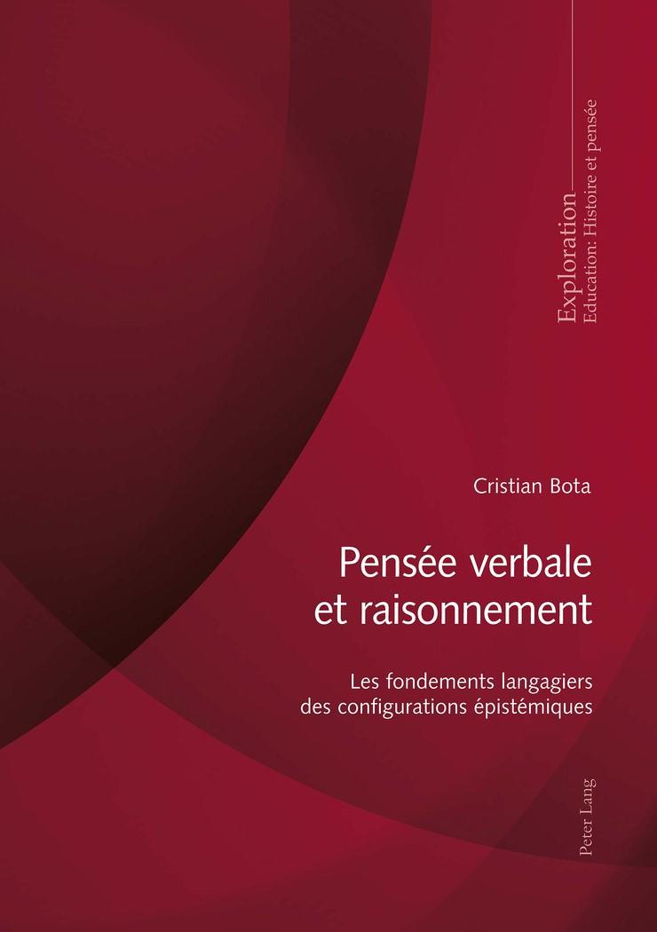 Pensée verbale et raisonnement | Bota, 2018 | Buch (Cover)