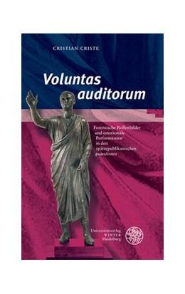 Abbildung von Criste | Voluntas auditorum' | 1. Auflage | 2018 | beck-shop.de