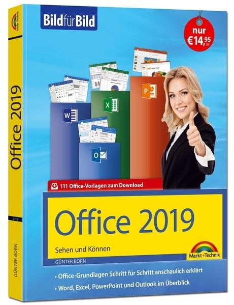Office 2019 Bild für Bild erklärt. Komplett in Farbe. | Born, 2018 | Buch (Cover)