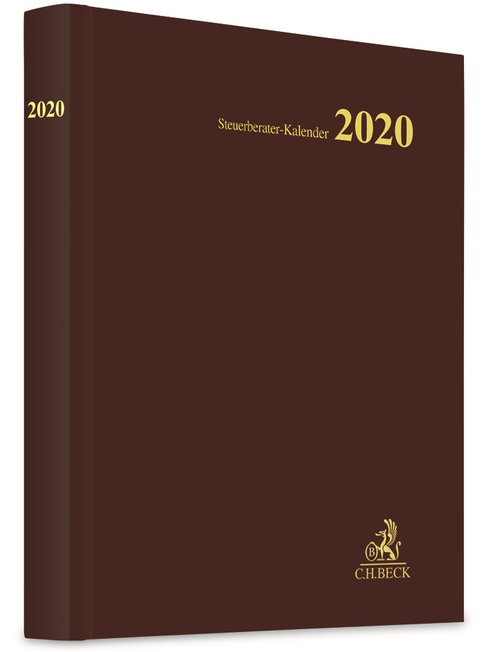 Steuerberater-Kalender 2020, 2019 | Buch (Cover)