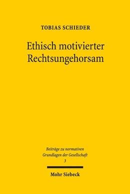 Abbildung von Schieder   Ethisch motivierter Rechtsungehorsam   2018   Rechtsdebatten zu Widerstandsr...   3