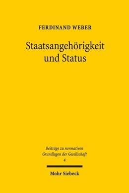 Abbildung von Weber   Staatsangehörigkeit und Status   2018   Statik und Dynamik politischer...   4
