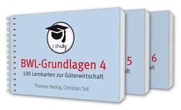 Abbildung von Hering / Toll | BWL-Grundlagen 4-6 | 2018 | 300 Lernkarten zur Güterwirtsc...