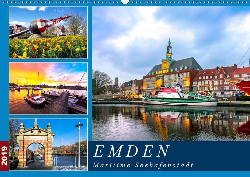 Abbildung von Dreegmeyer   EMDEN maritime Seehafenstadt (Wandkalender 2019 DIN A2 quer)   1. Edition 2018   2018