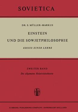 Abbildung von Müller-Markus   Einstein und die Sowjetphilosophie   1966   Krisis Einer Lehre Zweiter Ban...   22