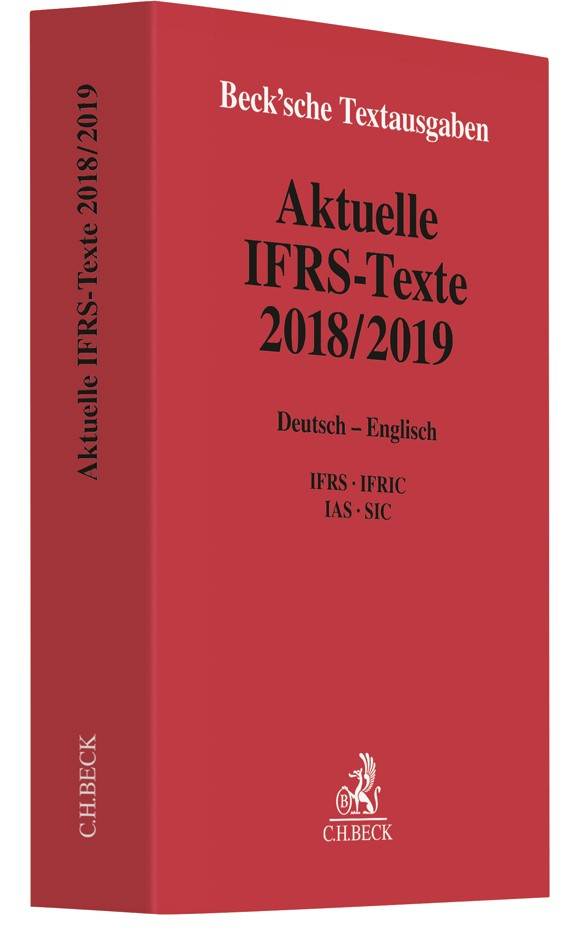 Aktuelle IFRS-Texte 2018/2019, 2019 | Buch (Cover)