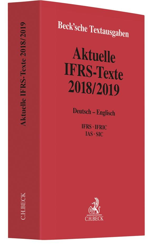 Abbildung von Aktuelle IFRS-Texte 2018/2019 | 2019