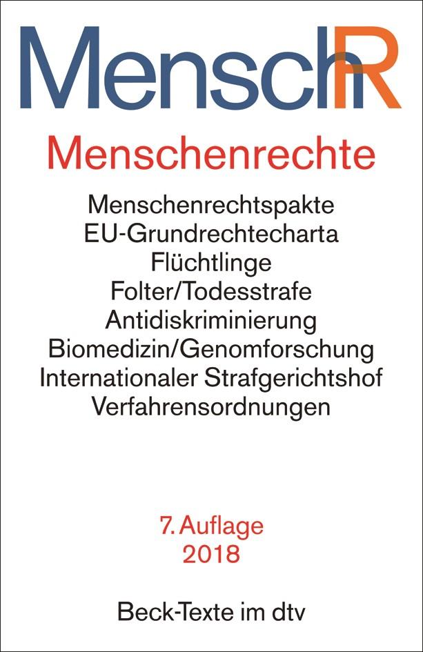 Menschenrechte - Ihr Internationaler Schutz: MenschR | 7., neubearbeitete Auflage, 2018 | Buch (Cover)