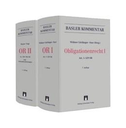 Abbildung von Widmer Lüchinger / Oser / Watter / Vogt (Hrsg.) | Obligationenrecht: OR | 7. Auflage | 2020 | Gesamtwerk in 2 Bänden OR I + ...
