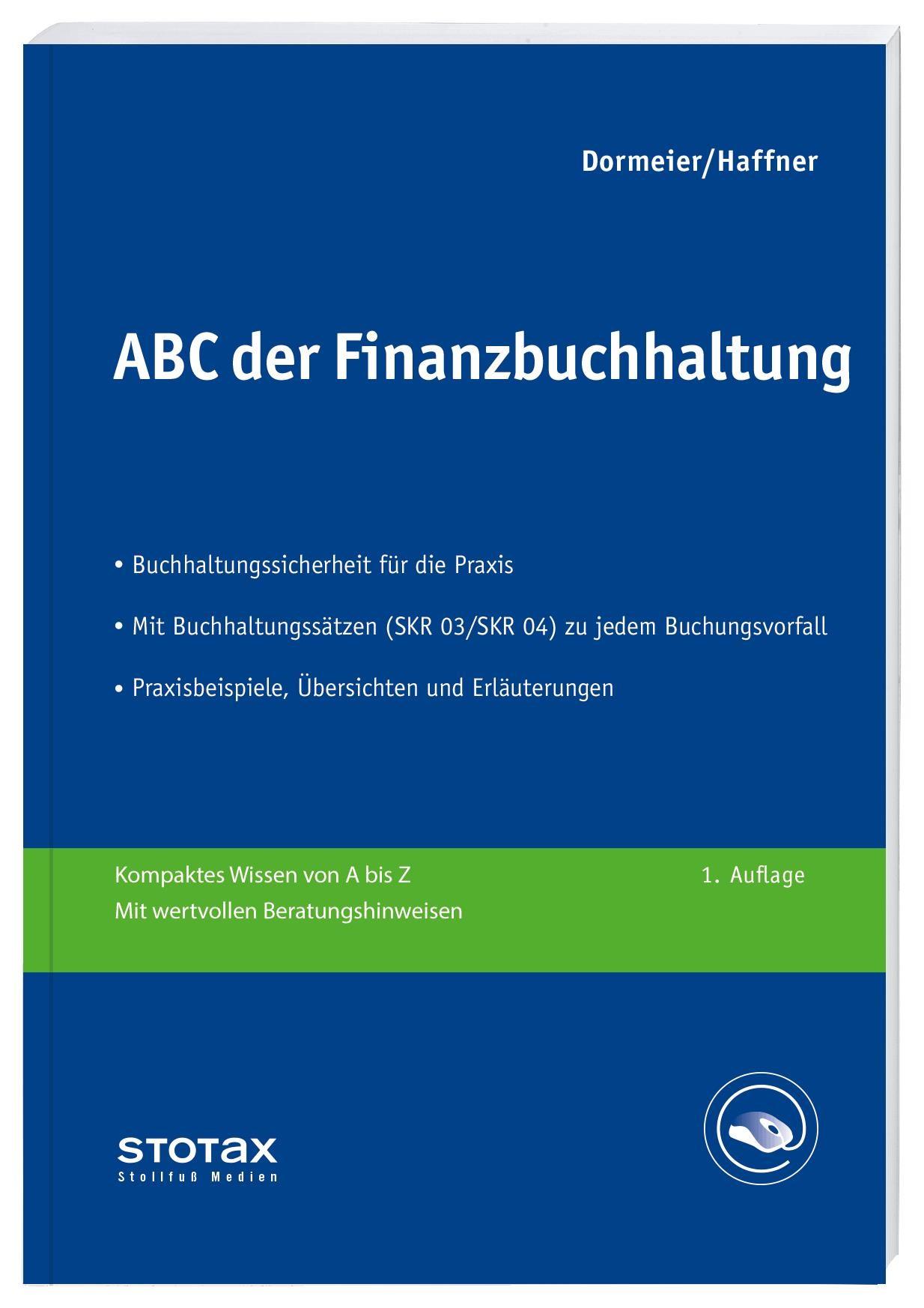 ABC der Finanzbuchhaltung | Dormeier / Haffner, 2018 | Buch (Cover)