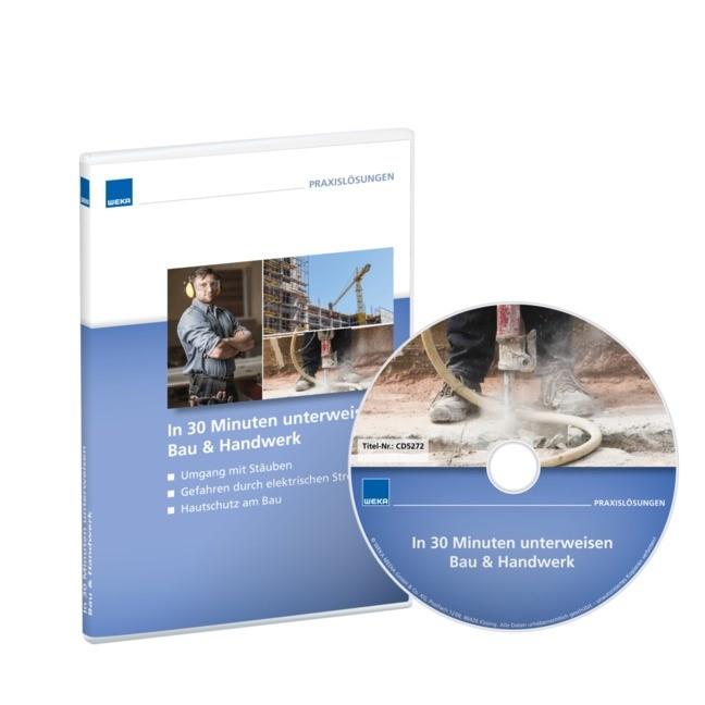 In 30 Minuten unterweisen - Bau & Handwerk 2, 2018 (Cover)