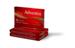 Abbildung von Adventin | 2018 | Wirkstoff: Schokolade, 24 Einh...
