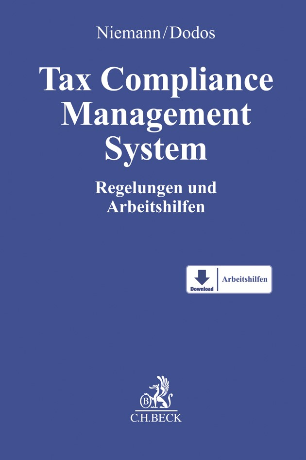 Tax Compliance Management System | Niemann / Dodos, 2018 | Buch (Cover)
