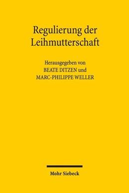 Abbildung von Ditzen / Weller   Regulierung der Leihmutterschaft   2018   Aktuelle Entwicklungen und int...