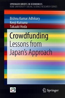 Abbildung von Adhikary / Kutsuna | Crowdfunding | 1. Auflage | 2018 | beck-shop.de