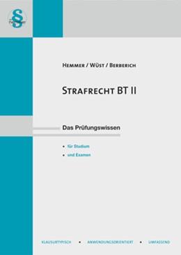Abbildung von Hemmer / Wüst   Strafrecht BT II   13. Auflage   2018   beck-shop.de