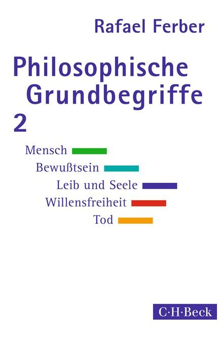 Cover: Rafael Ferber, Philosophische Grundbegriffe 2