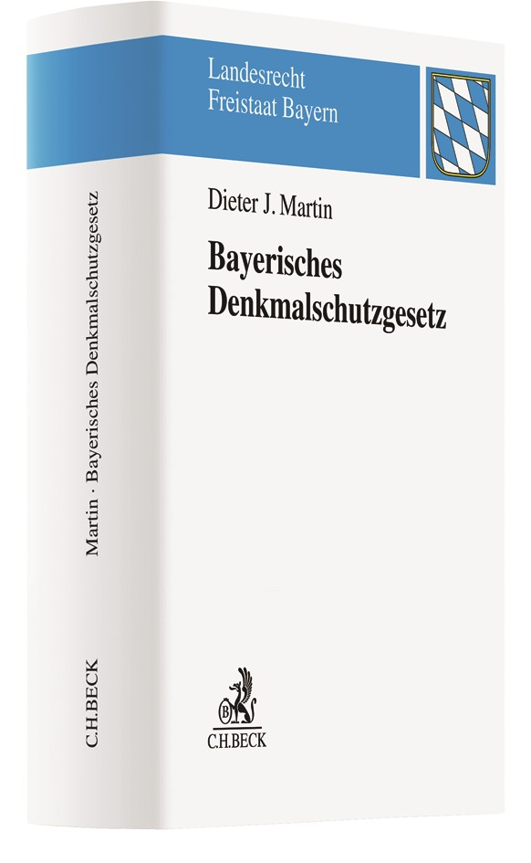 Bayerisches Denkmalschutzgesetz: BayDSchG   Martin, 2018   Buch (Cover)