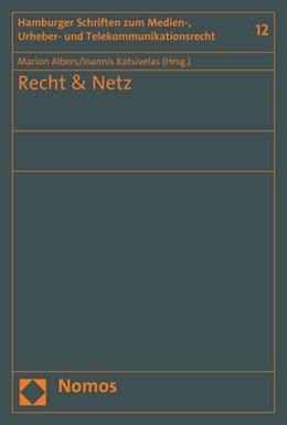 Abbildung von Albers / Katsivelas | Recht & Netz | 2018 | 12