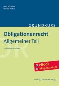Grundkurs Obligationenrecht | Kramer / Probst | 3. Auflage, 2018 (Cover)