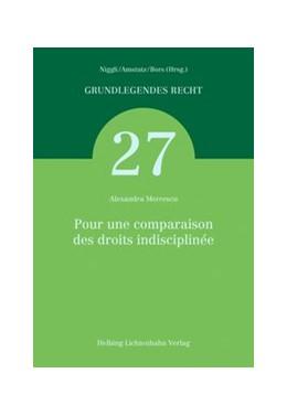 Abbildung von Mercescu | Pour une comparaison des droits indisciplinée | 2018 | Band 27
