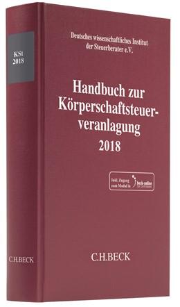 Abbildung von Handbuch zur Körperschaftsteuerveranlagung 2018: KSt 2018 | 2019