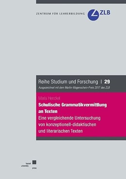 Abbildung von Henckel | Schulische Grammatikvermittlung an Texten | 1. Auflage | 2018 | beck-shop.de