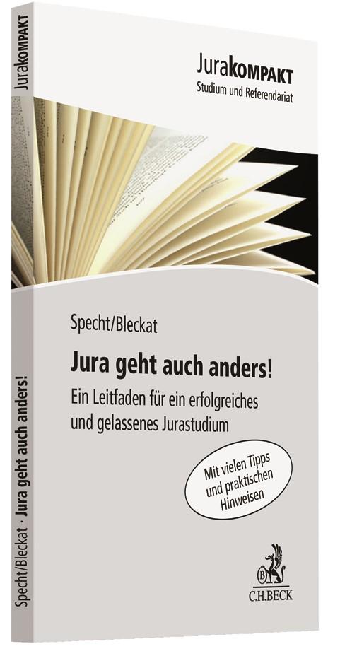 Jura geht auch anders! | Specht / Bleckat, 2018 | Buch (Cover)