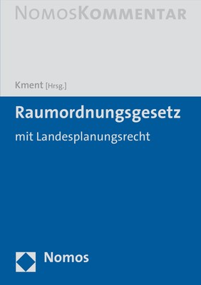 Raumordnungsgesetz: ROG | Kment (Hrsg.), 2019 | Buch (Cover)
