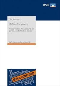 MaRisk-Compliance | Achtelik / Bundesverband der Deutschen Volksbanken und Raiffeisenbanken e. V. (BVR) | 1. Auflage, 2018 | Buch (Cover)