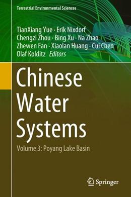 Abbildung von Yue / Nixdorf / Zhou / Xu / Zhao / Fan / Huang / Chen / Kolditz   Chinese Water Systems 03   2019   Volume 3: Poyang Lake Basin