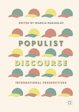 Abbildung von Macaulay   Populist Discourse   1. Auflage   2018   beck-shop.de