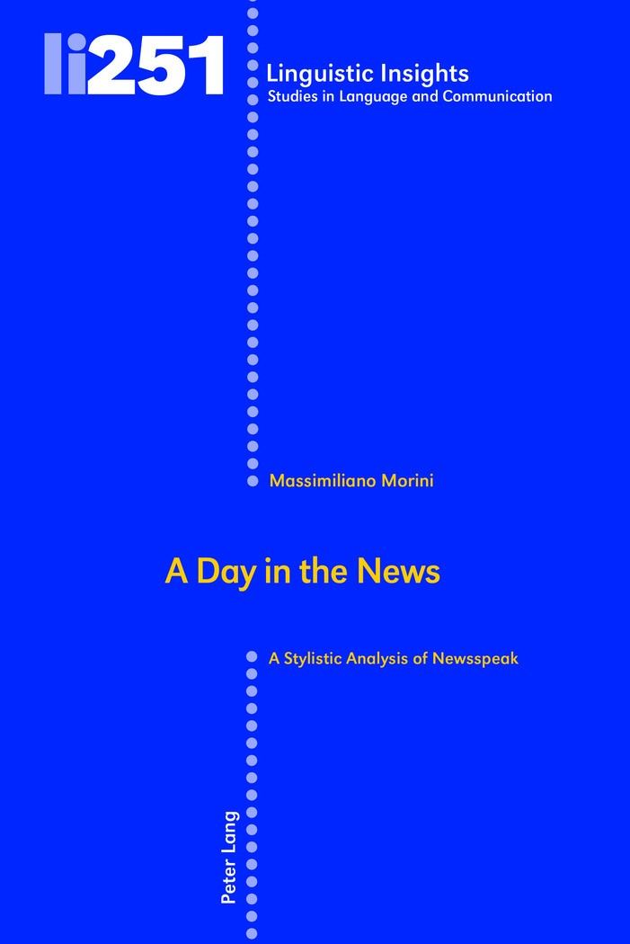 A Day in the News | Morini, 2018 | Buch (Cover)