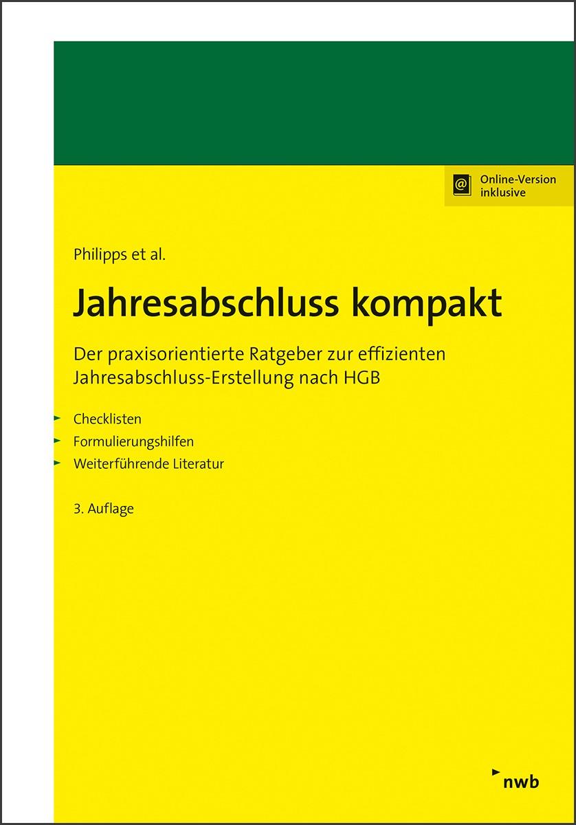 Jahresabschluss kompakt | Philipps et al. | 3., Auflage, 2018 | Buch (Cover)