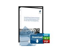 Abbildung von QuickCheck Datensicherheit im Gesundheitswesen: Fit für die Praxisbegehung • PREMIUM-Ausgabe | 1. Auflage | 2018 | beck-shop.de
