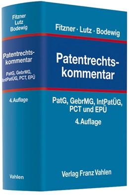 Abbildung von Fitzner / Lutz | Patentrechtskommentar | 4. Auflage | 2012 | beck-shop.de