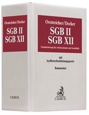 Oestreicher: SGB II / SGB XII  Hauptordner 100mm Ersatzordner (leer), 2018 (Cover)
