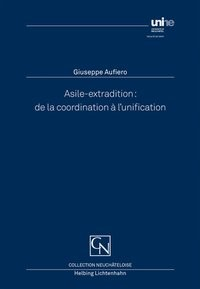 Asile-extradition | Aufiero, 2018 | Buch (Cover)